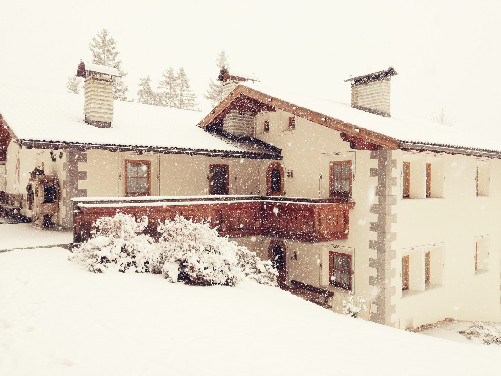 Residence Chalet Alpina winter